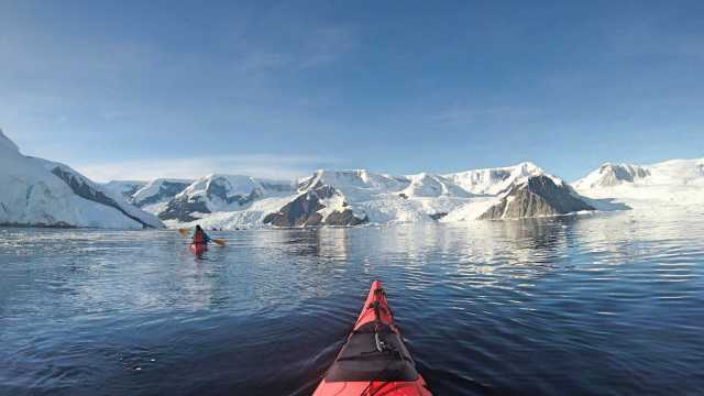 Adventure for adrenaline seekers: Kayaking Antarctica