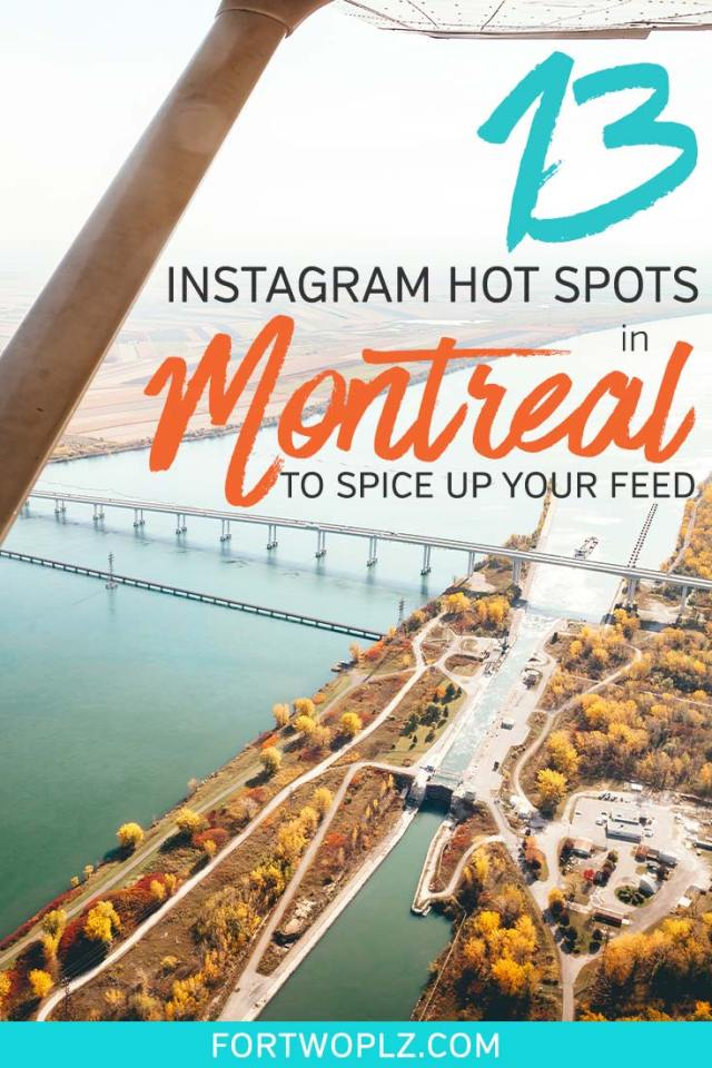 Looking for the most instagram worthy places in Montreal, Canada? With so many things to see and do, Montreal is overflowing with spots that make for the perfect photo op.  This cool list of awe-inspiring Instagrammable places in Montreal will make you fall in love with this city and keep your feed looking sharp! #canadatravel #explorecanada #travelguide #photoguide