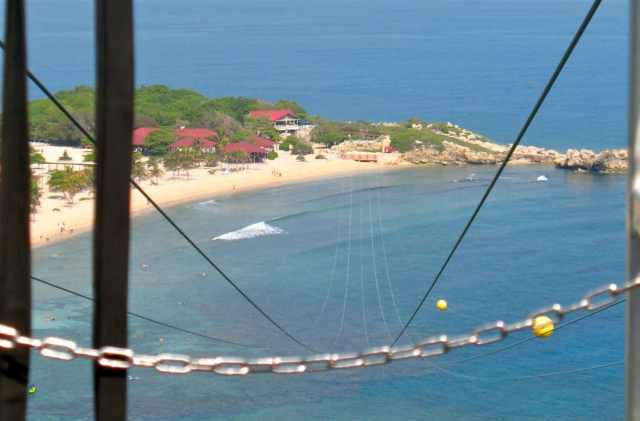 adventure for adrenaline seekers: zipline, labadee, haiti