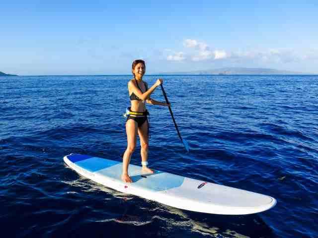 stand up paddle boarding maui hawaii
