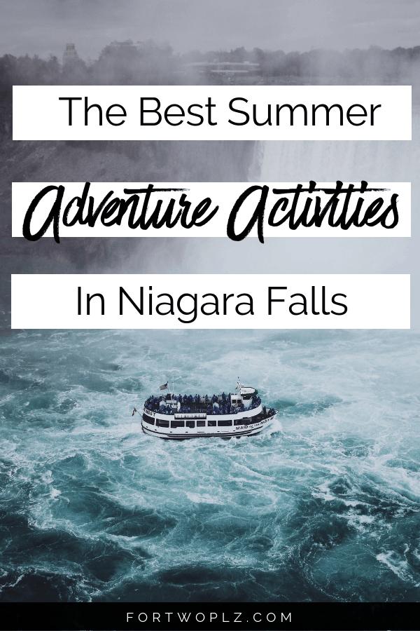 best summer adventure activities in Niagara Falls