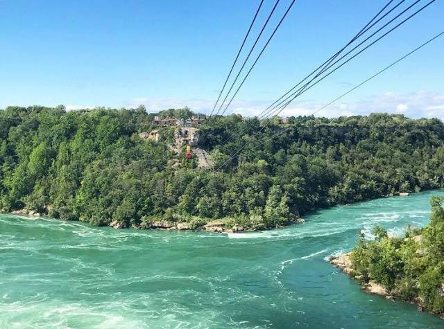 10 best ways to experience niagara falls in the summer for two please 9 cross the canada us border on the whirlpool aero cable car best things to do ways to experience niagara falls summer solutioingenieria Choice Image