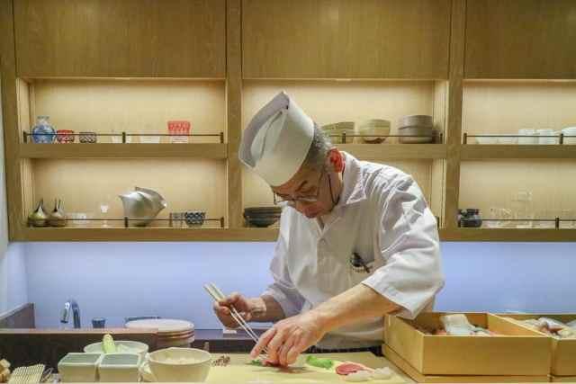 Andaz Tokyo Luxury Hotel Toranomon Hills Sushi Bar