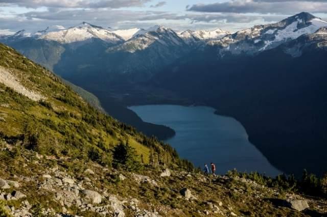 Cheakamus Lake in Garibaldi Provincial Park
