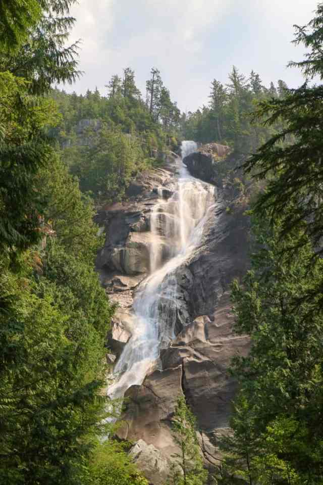 Shannon Falls Vancouver Sea to Sky Highway