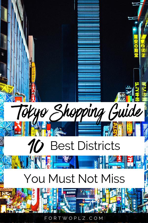 Tokyo Shopping Guide