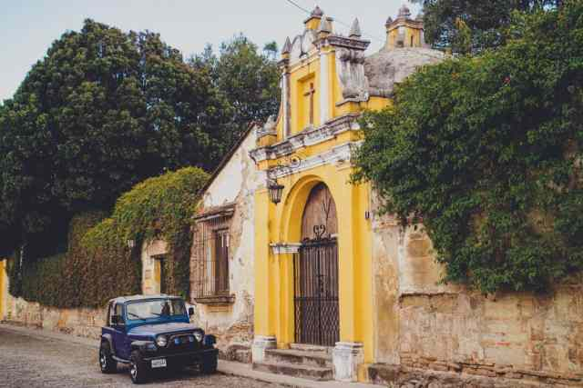 Antigua Guatemala top places to visit