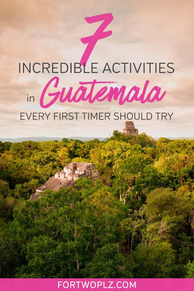 Guatemala is a hidden gem in Central America. It has everything from ancient Maya ruins, charming colonial towns, rich culture to active volcanoes. This post covers best things to do in Guatemala, best Guatemala hotels to stay at, safety and Transport in Guatemala and more! #guatemalatravel #centralamerica #wanderlust