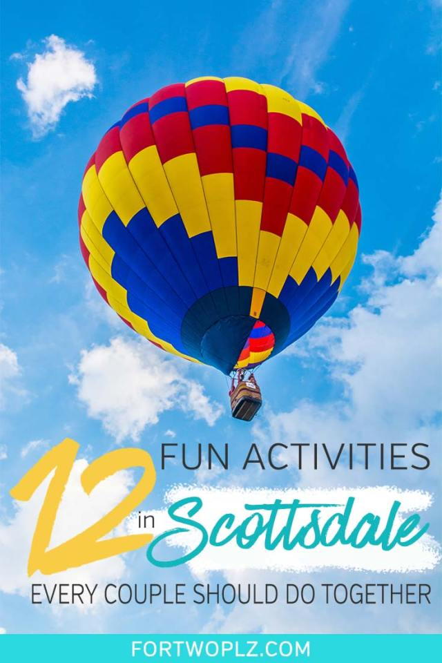 Scottsdale, Arizona is a fantastic place for a winter getaway. The city offers plenty of fun for young travellers, from golfing, cafe hopping, hiking to luxury spa. Here are 12 incredibly fun things to do in Scottsdale for couples. Click through to discover the top attractions, instagrammable cafes, best restaurants, and the most luxury hotels in Scottsdale! #explorearizona #scottsdale #travel