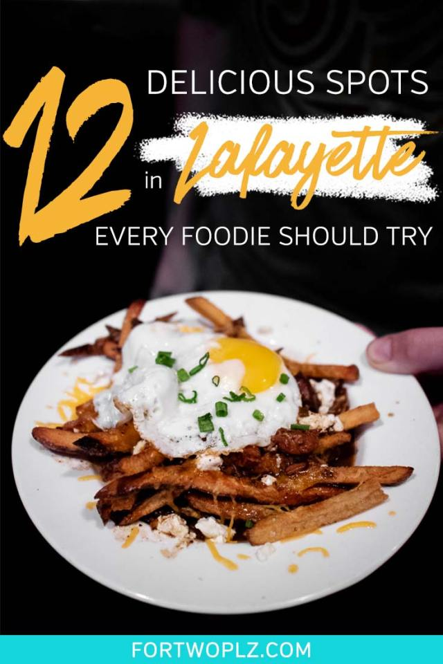 Planning a foodie road trip to Lafayette, Louisiana? The city filled with so many tasty food spots to try. Besides having unbelievably greatCreole and Cajun food, like boudin, crawfish etoufee, gumbo and jambalaya, Lafayette has amazing local breweries! This post highlights the must-try foods in Louisiana and best places to eat in Lafayette, Louisiana. #explorelouisiana #foodietravel #usaroadtrip
