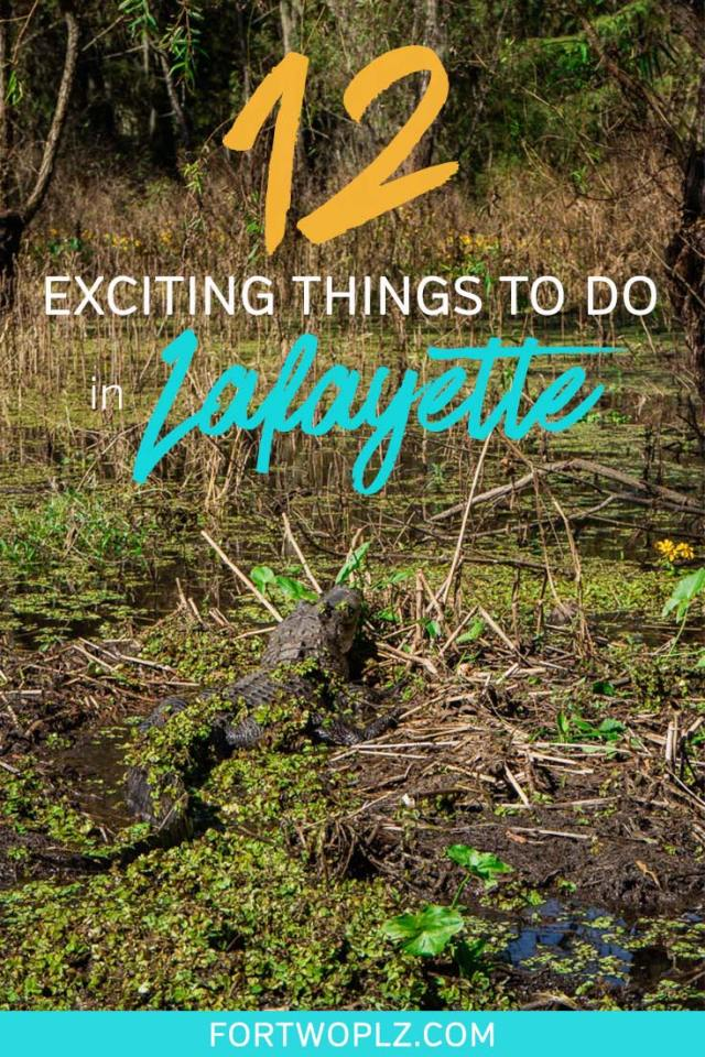 Visit Lafayette, Louisiana to get a genuine Cajun experience! This southern city offers a ton of fun for travelers on a USA road trip. Whether you are interested in festivals, cajun cuisine, zydeco music or outdoor activities, Lafayette has it all! Here are 12 things to do in Lafayette, Louisiana you need to add to your USA bucket list! #explorelouisiana#foodietravel #usaroadtrip