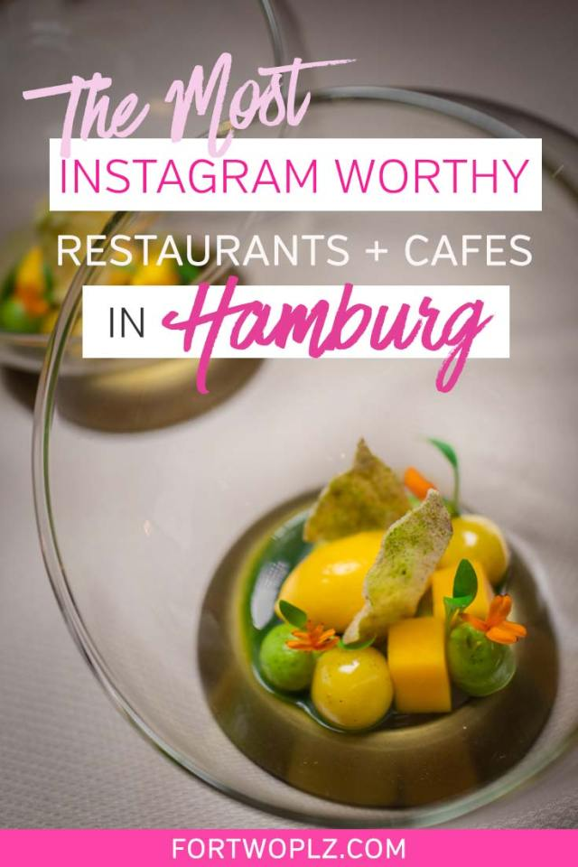 Hamburg is an underrated foodie destination in Europe. This German city has so many great restaurants and cafes worth exploring. With so many spots to choose from, we created a food guide to the most Instagram worthy places in Hamburg - to get some drool-worthy shots for your Instagram feed. #foodguide #foodtravel #culinarytravel #hamburg #germanytravel #europe