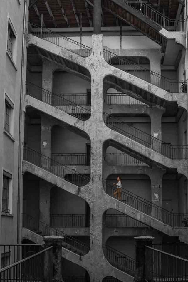 Traboule Lyon France