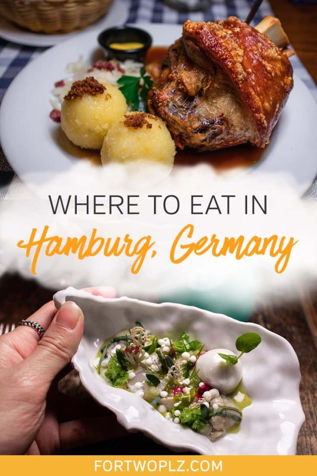 Hunting for the best places to eat in Hamburg, Germany? From Michelin star restaurants to hip and trendy cafes, Hamburg is no shortage of delicious food options. Keep reading to discover the best restaurants, cafes and bars, you should not miss on your visit to Hamburg! #foodguide #foodtravel #culinarytravel #hamburg #germanytravel #europe