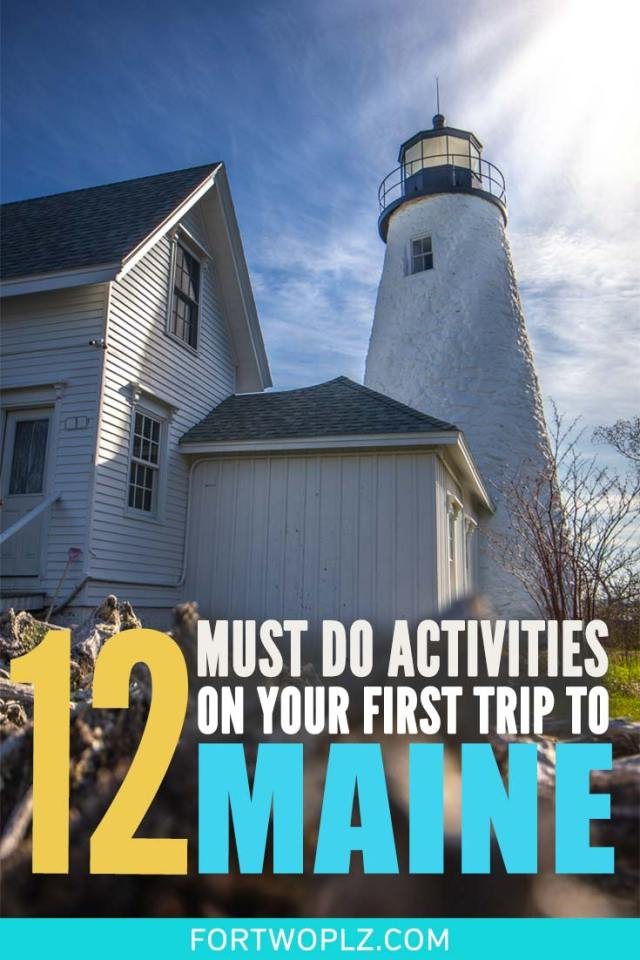Wondering what's there to see and do in Maine besides lighthouses and lobster fishing? You'll be surprised. Here are 12 activities that should be on your Maine road trip itinerary. Click to read the full list of must see and must do in Maine. #roadtrip #newengland #usatravel #summertravel