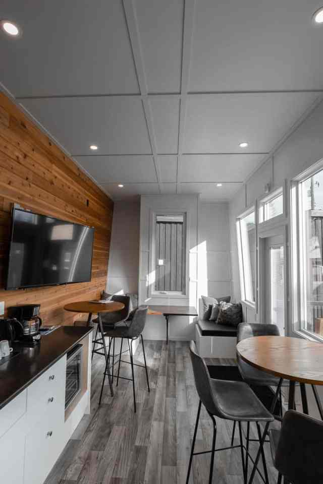 Tiny Home Hotel Communal Space