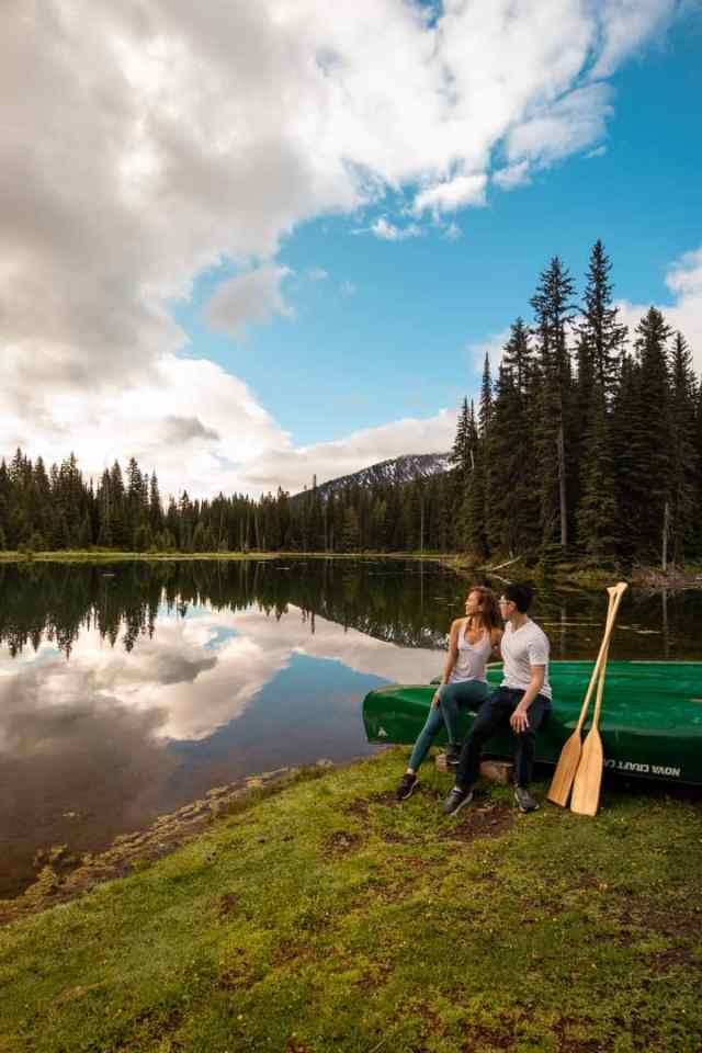 Kayak or canoe at Island Lake Lodge
