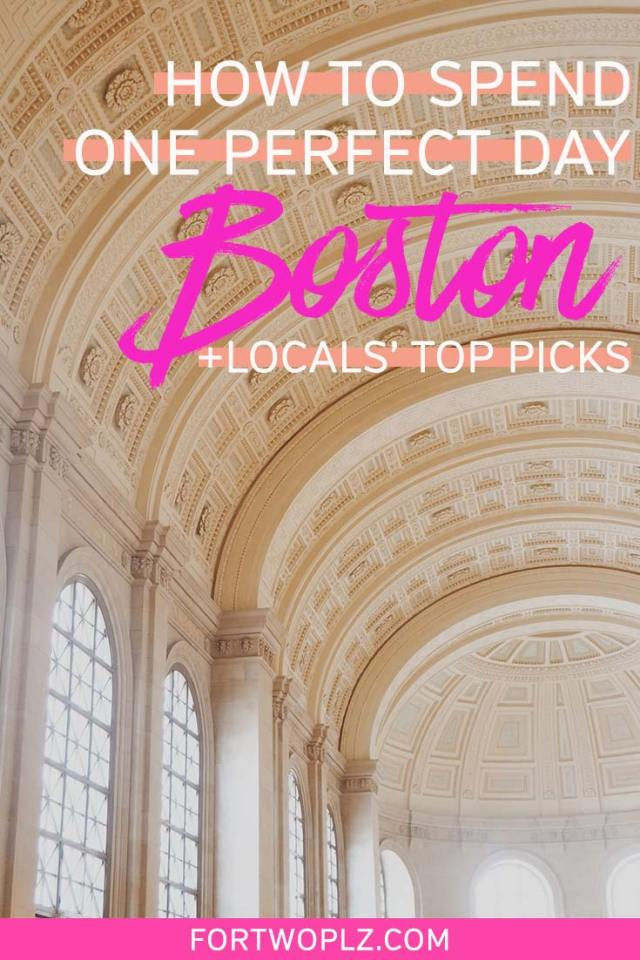 Boston MA offers a wealth of things to do for foodies and history buffs. This Boston itinerary shows you exactly how to the best of Boston in 24 hours. Click to discover all the best things to do in Boston as well as restaurants you should not miss! #newengland #usatravel #summertravel #boston