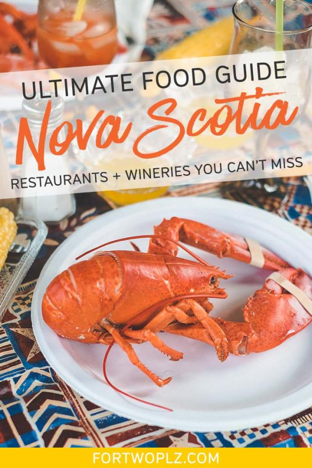 Nova Scotia Food Guide