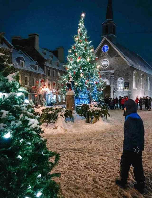 Quebec City Christmas