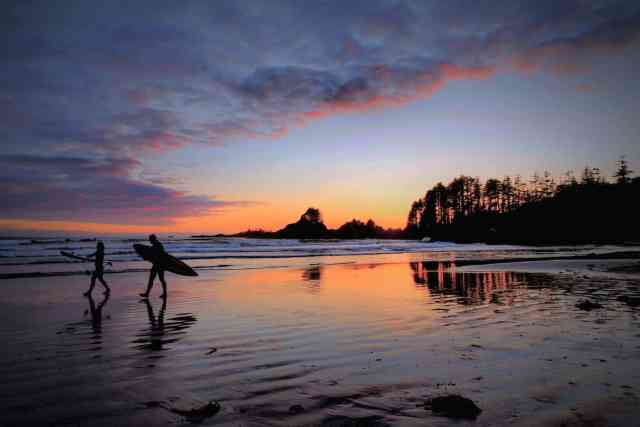 Tofino Surfing Cox Bay Beach