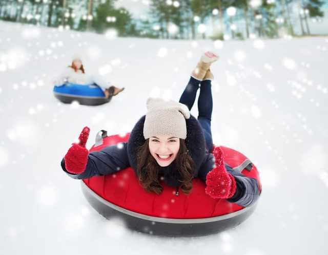 Whistler Christmas tubing