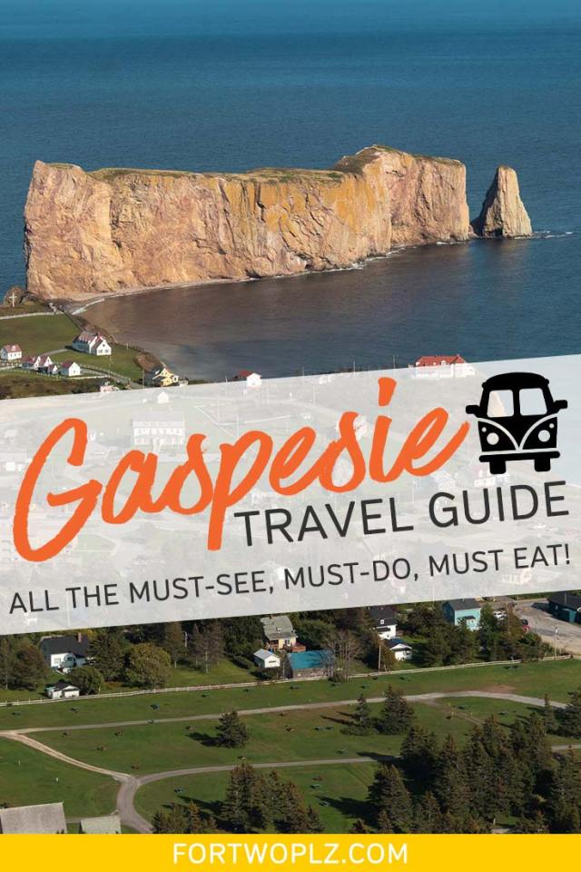 Gaspesie road trip travel guide
