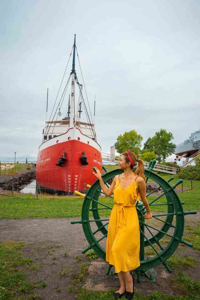Musee Maritime du Quebec road trip