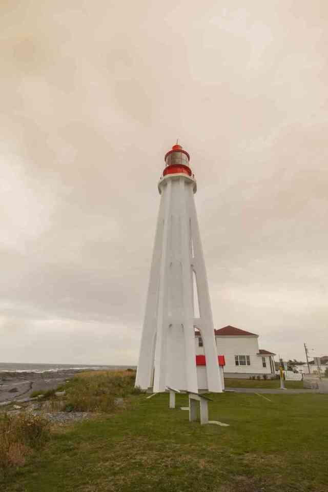 Pointe-au-Pere Maritime Historic Site Quebec
