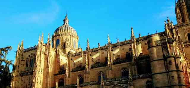 Spain Salamanca New Cathedral