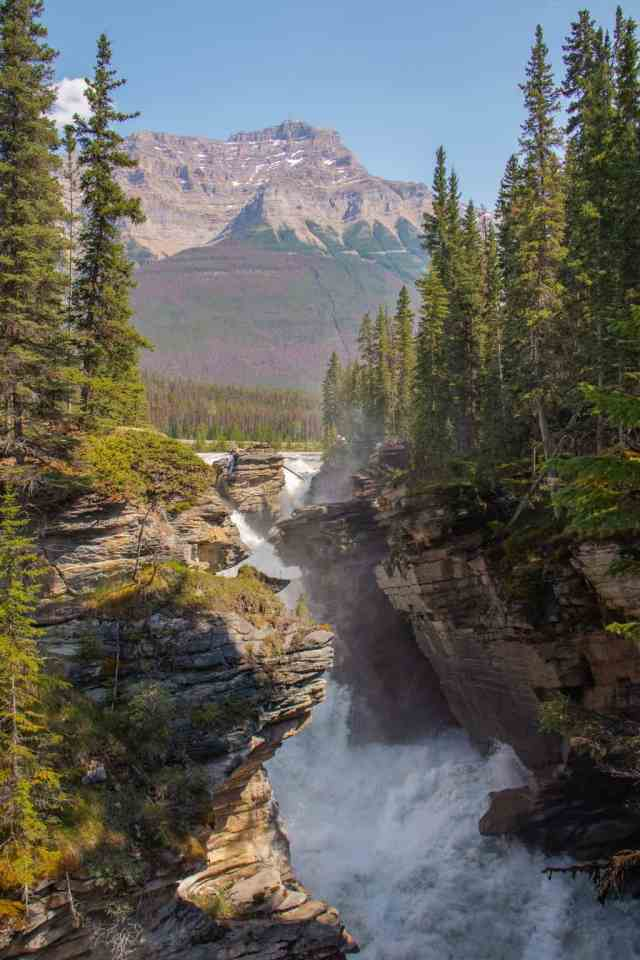 Athabasca Falls Jasper Icefields Parkway