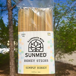 SunMed CBD – Honey Sticks (200mg.)