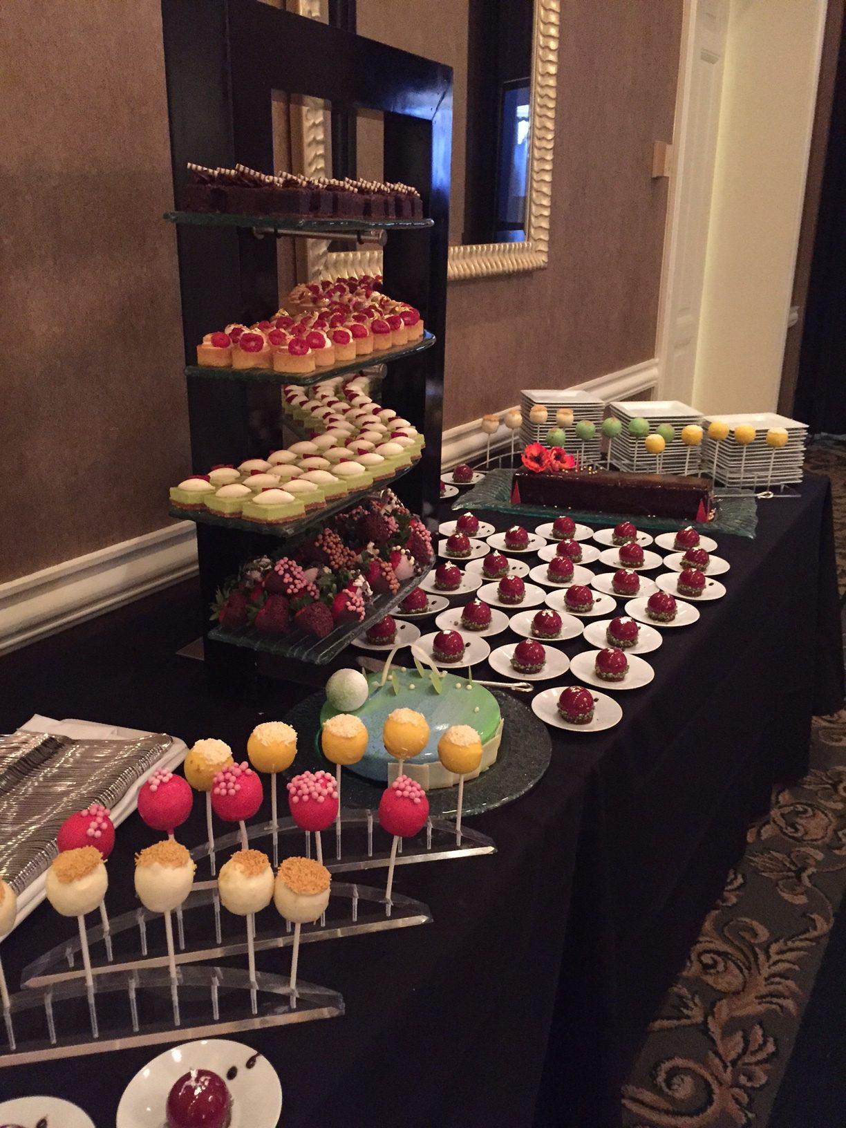Trend Alert Mini Dessert Displays  Fort Worth Club Events
