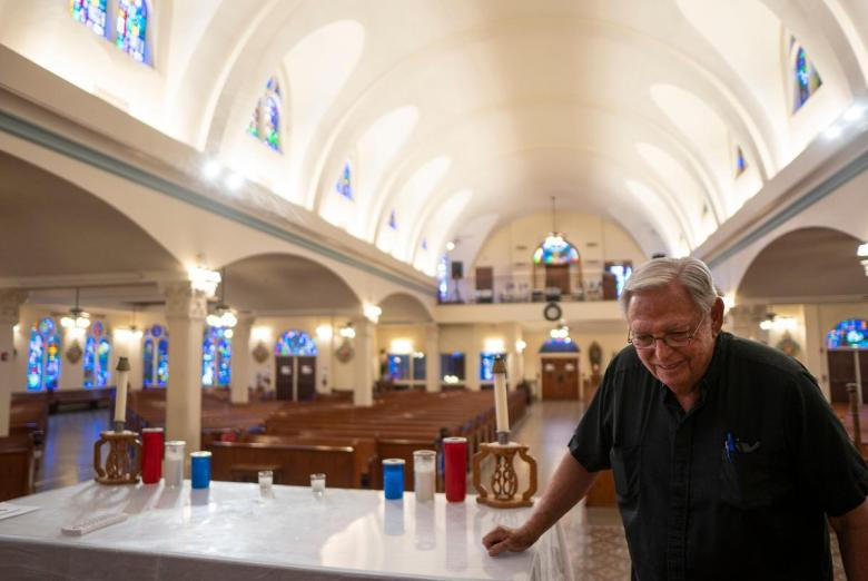 Father Roy Snipes, Priest of Our Lady of Guadalupe Catholic Church, in Mission on Aug. 3, 2021.