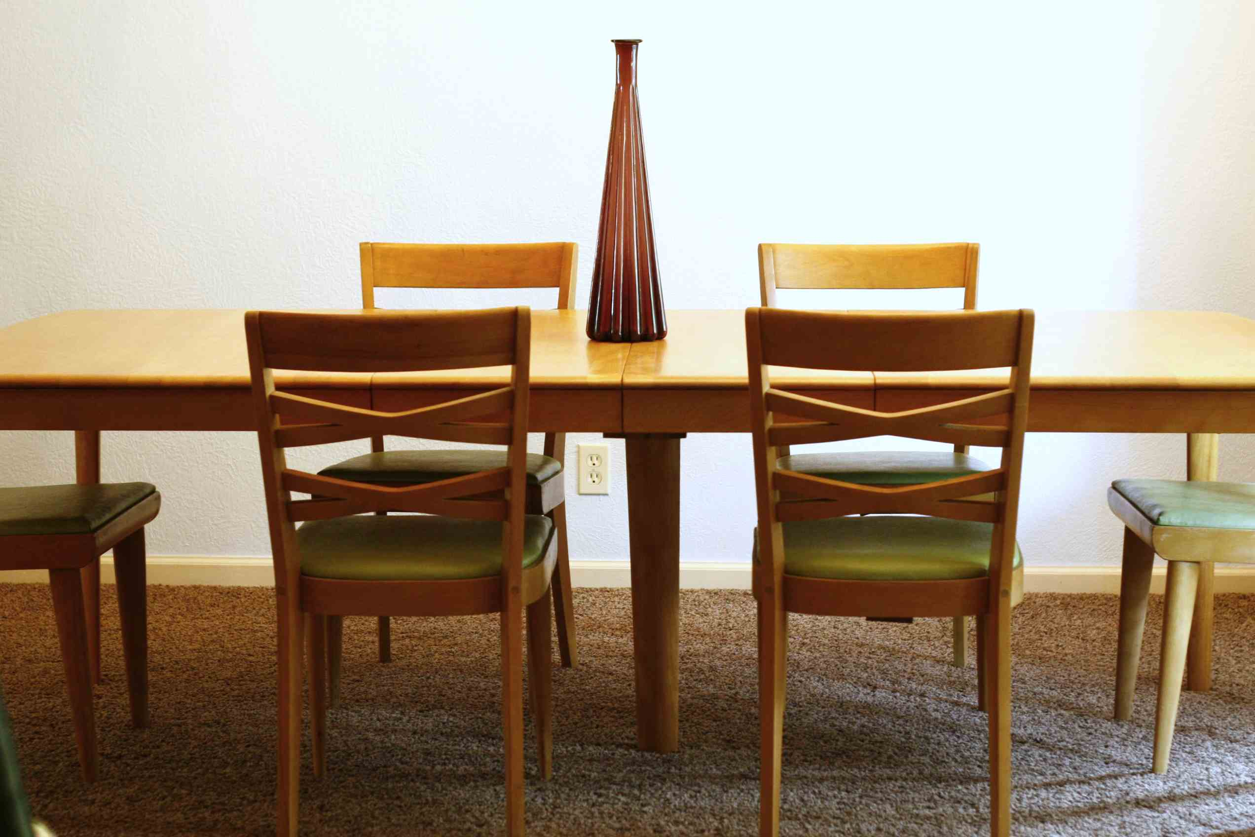 Heywood Wakefield Dining Chairs Hey Heywood Your Table S Ready Fort Worth Vintage