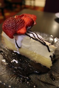 Crème Brûlée Cheesecake from Garden Grille and Bar in Bossier City