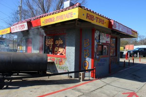 Rib Tip Express, located at 2112 S. Market St. in Shreveport.