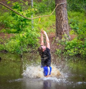 A photo from the Barksdale Mud Run