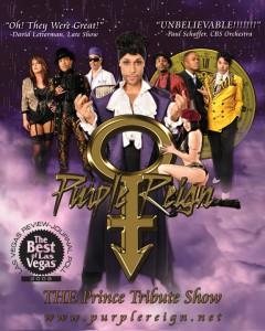 Purple Reign promo
