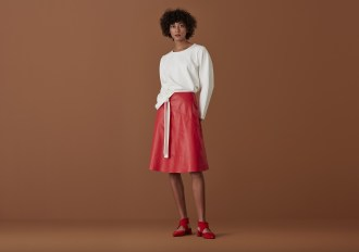 Finery leather skirt £129