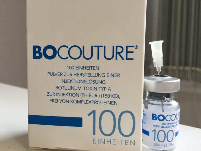 Hochwertiges Präparat Botox-Behandlung