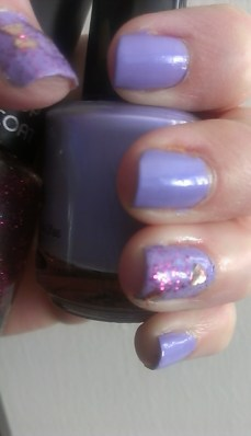 Seche Buttoned Up and Salon Perfect Hearts-a-Flutter Top Coat