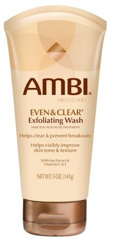 AMBI EVEN & CLEAR Exfoliating Wash