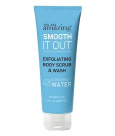 Smooth It Out Coconut Water Exfoliating Body Scrub & Wash