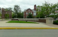In Greencastle, Indiana, we visited the campus of DePauw University, where Mom went for her first two years of college.