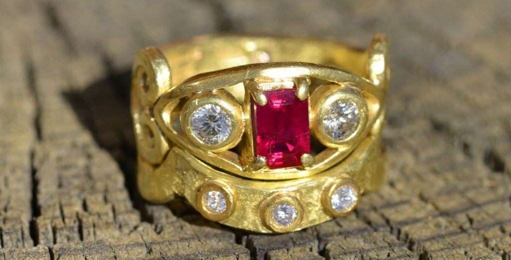 ruby ring set 9