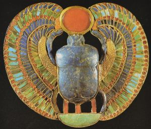 Winged Scaarb Pendant
