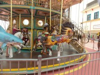 Childhood Discoveries -- Nixi's First Time on a Carousel