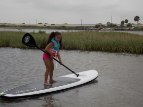 Water Sports For Kids -- Paddle Boarding