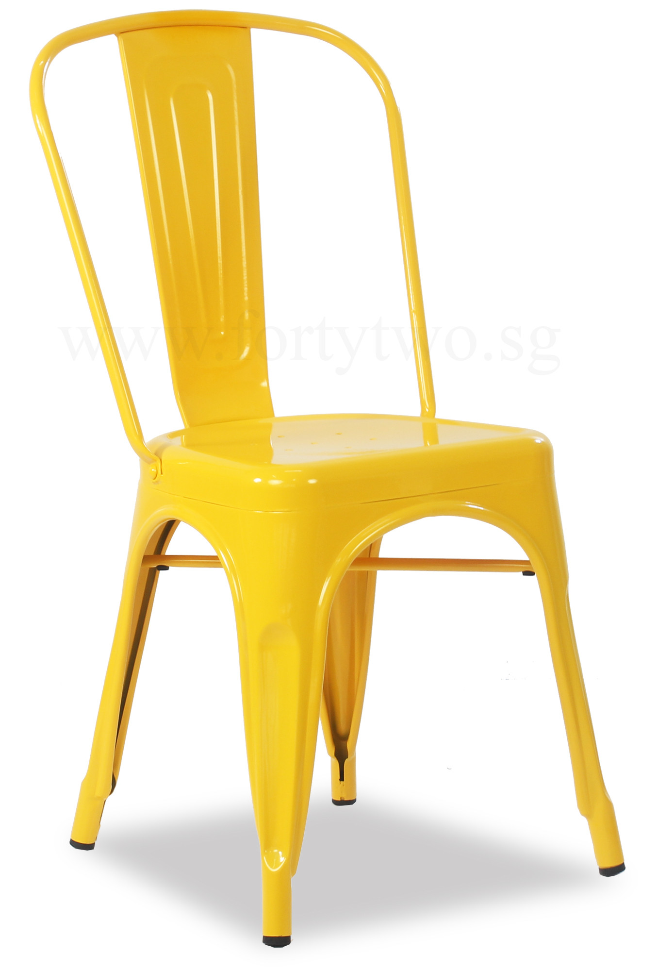 Yellow Metal Chairs Retro Metal Chair Yellow Furniture And Home Décor Fortytwo